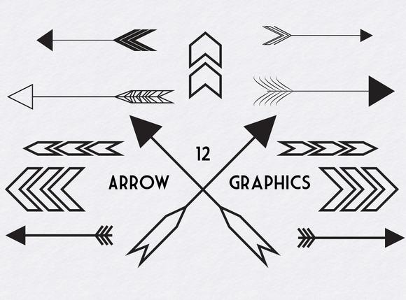 Hipster clipart arrow #9