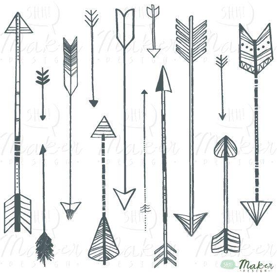 Aztec clipart arrow #6