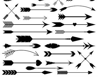 Aztec clipart arrow #7