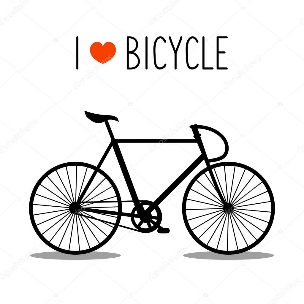 Hipster clipart bicycle Stock bicycle Vector Vector Illustration