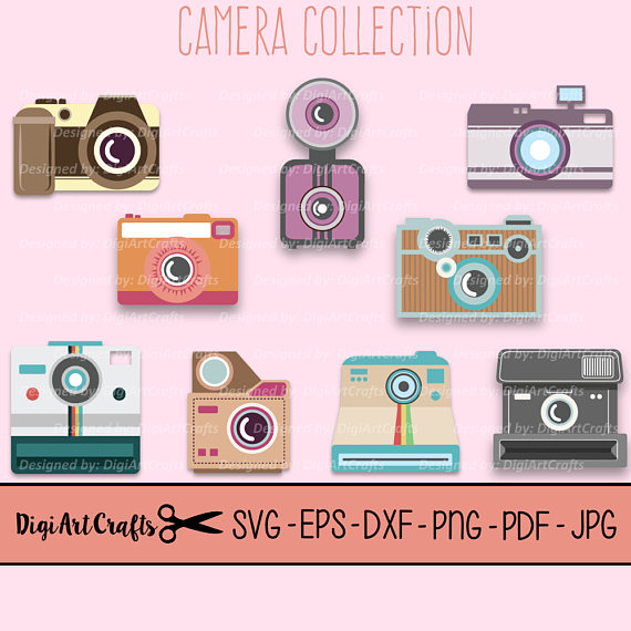 Hipster clipart camera #11