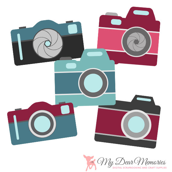 Hipster clipart camera #2