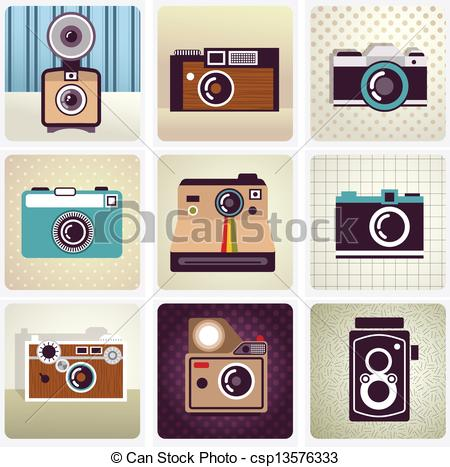 Hipster clipart camera #3