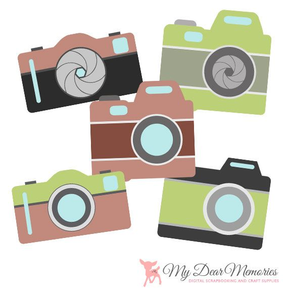 Hipster clipart camera #4