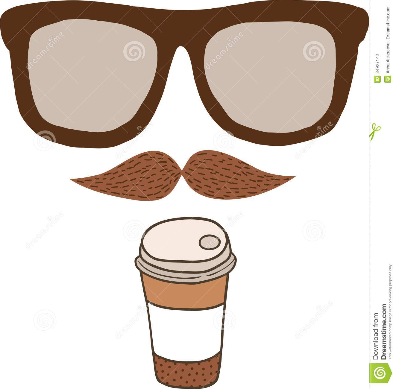 Drawn goggles glass cup Clipart glasses  Clipart Collection