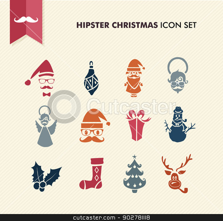 Hipster clipart christmas #7