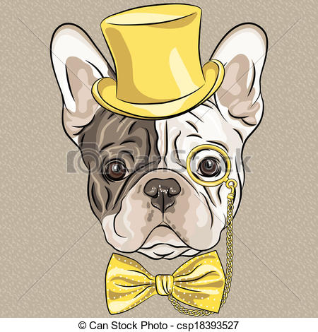 Hipster clipart dog #10