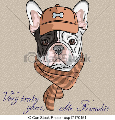 Hipster clipart dog #6