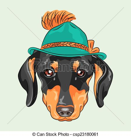 Hipster clipart dog #2