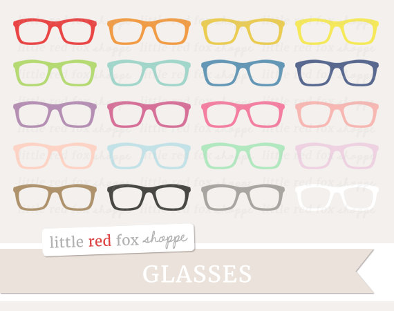 Hipster clipart frame Nerd Graphic Clipart Nerd Glasses