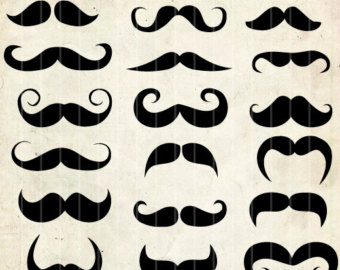 Hipster clipart french mustache #13