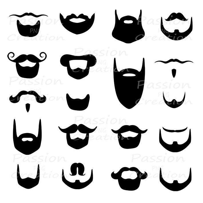 Hipster clipart french mustache #2