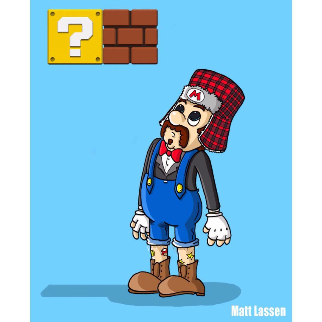 Hipster clipart mario In Super Mario 31f6 5