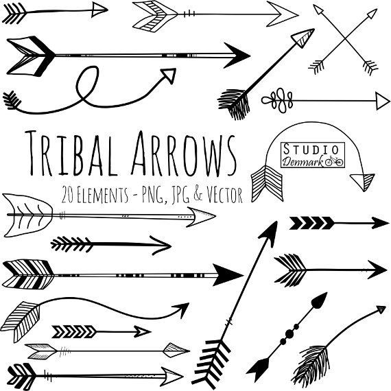 Hipster clipart modern arrow Clipart Arrow and Art Clipart