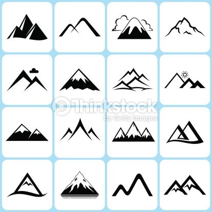 Mountain clipart simple #2