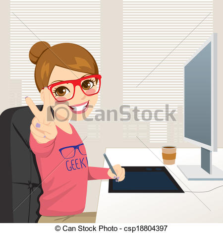 Hipster clipart person #8
