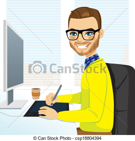 Hipster clipart person #2