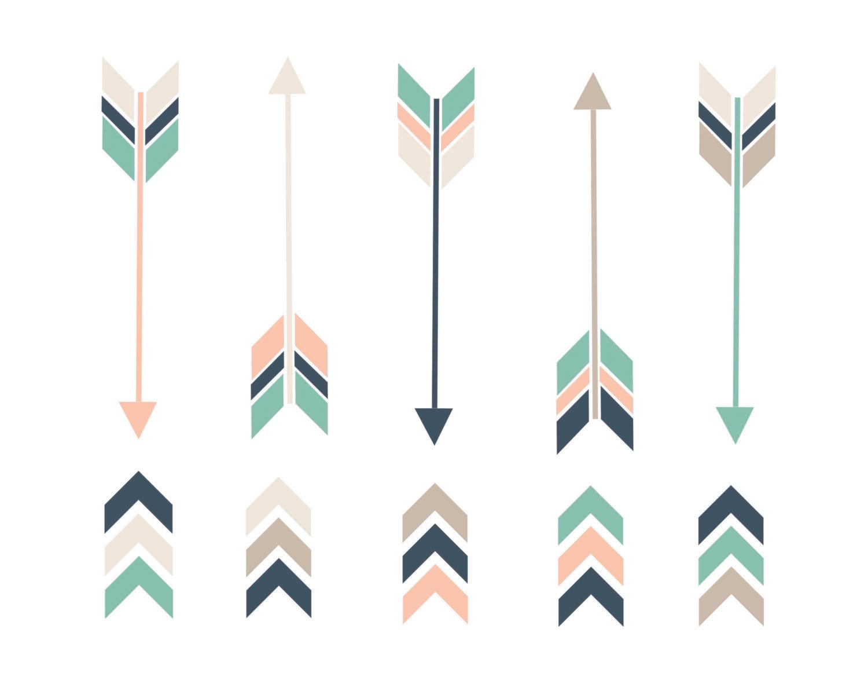 Aztec clipart arrow #2