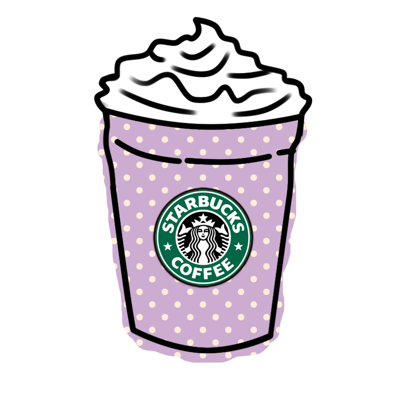 Pink clipart starbucks Planning Png More More by