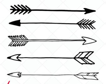 Arrow clipart boho #4