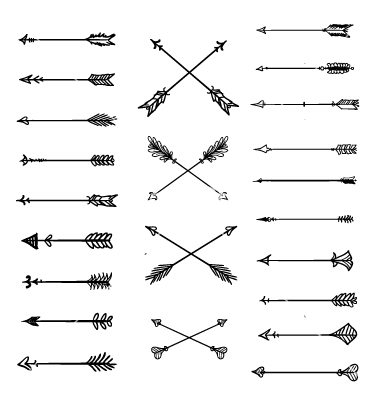 Arrow clipart aztec Arrow white clipart clipart Sssilent