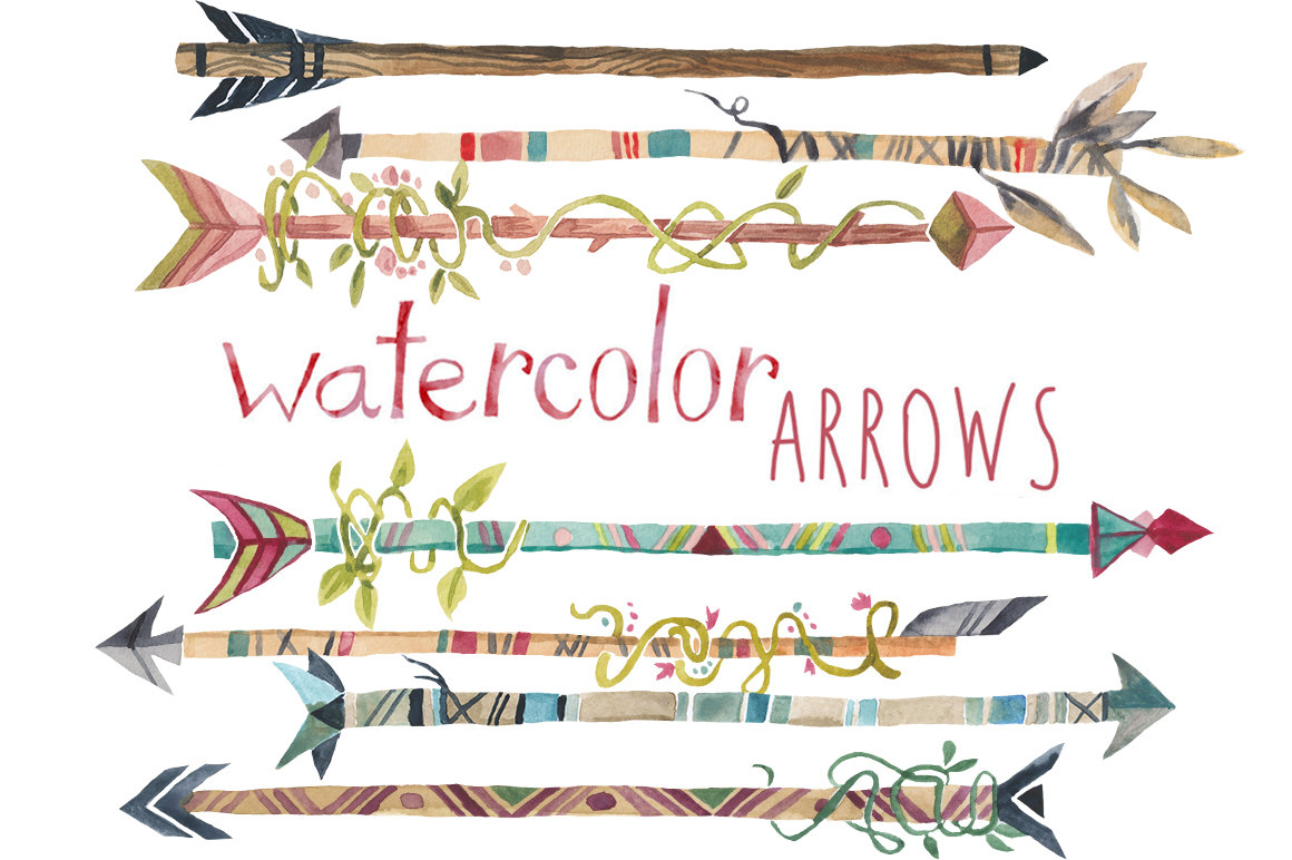 Hipster clipart tribal arrow #5