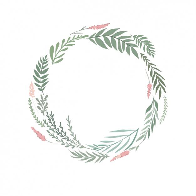 Wreath clipart watercolor Watercolor wreath wreath olive stock