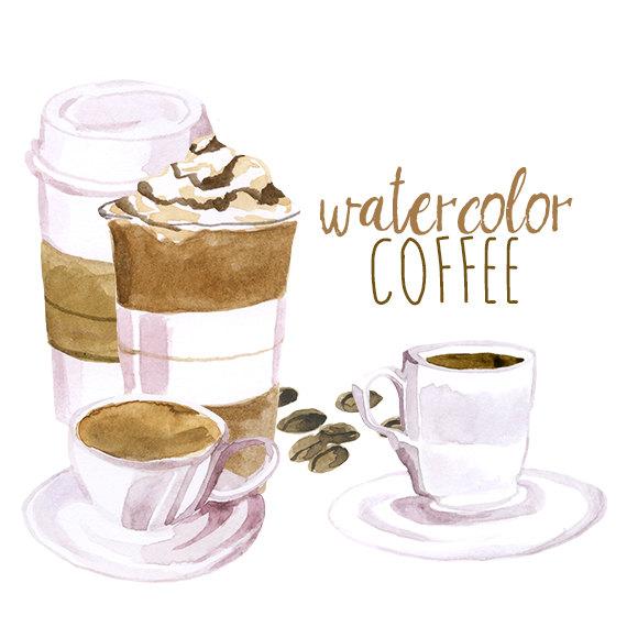 Cappuccino clipart latte Cappuccino coffee clipart illustration