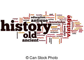 History clipart 151 concept  word History