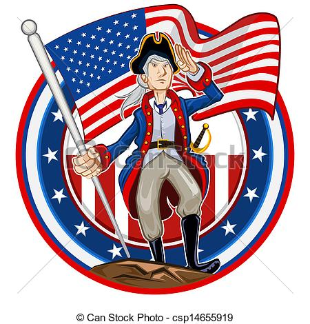 America clipart patriot day Vector United Shiny American States
