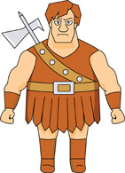 History clipart anglo saxons Kb Warrior Saxon Graphics From: