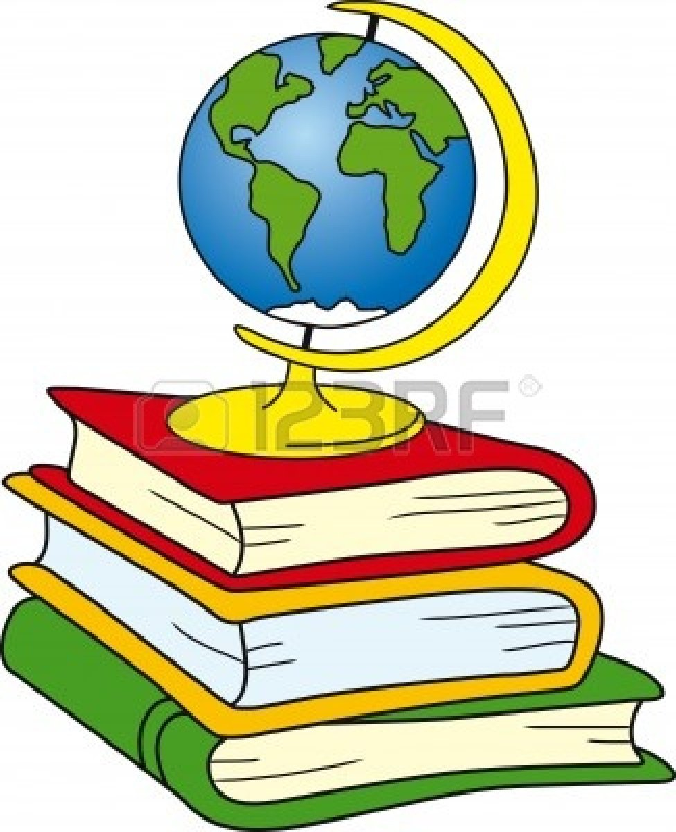 Geography clipart atlas #1