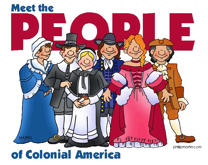 History clipart colonial #9