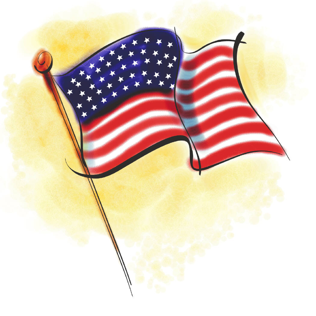 Civil War clipart us flag Free  Free For Images
