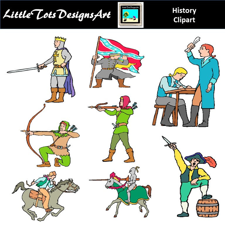 History clipart colonial #14