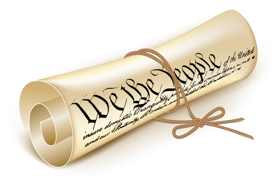 History clipart constitution #10