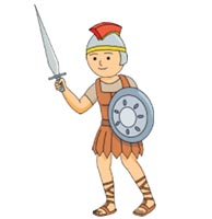 Roman Warriors clipart animated Map outline Pictures Size: From: