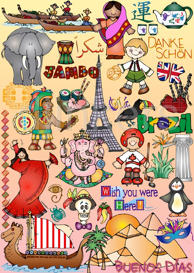 Culture clipart world history #4