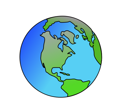 Planets clipart earth #8