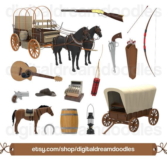 Cart clipart history Graphic on  Clipart Clip
