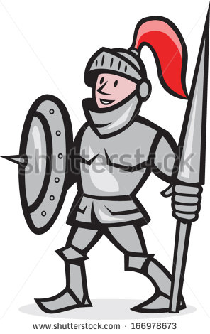 Maiden clipart knights armor Clipart on and lance of