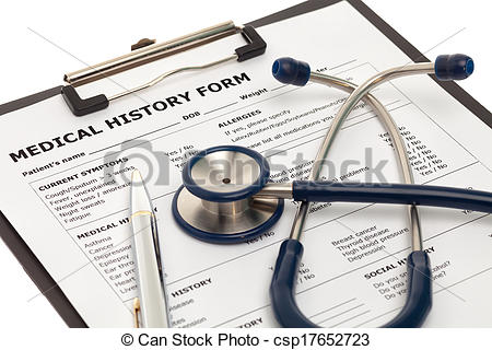 Treatment clipart medical history Document medical of Medical history