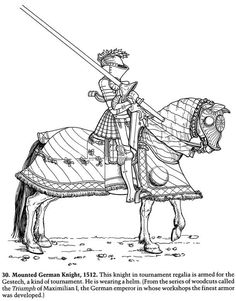 Maiden clipart knights armor Drawn drawing horse Knight Horse