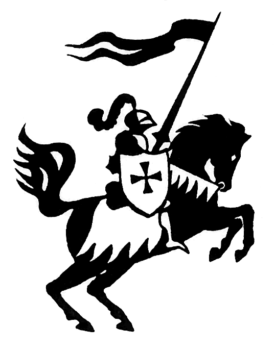 Knight clipart black and white Clipartpanda clip from  this