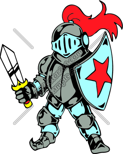 Knight clipart medieval time Knight knight Shield And knights