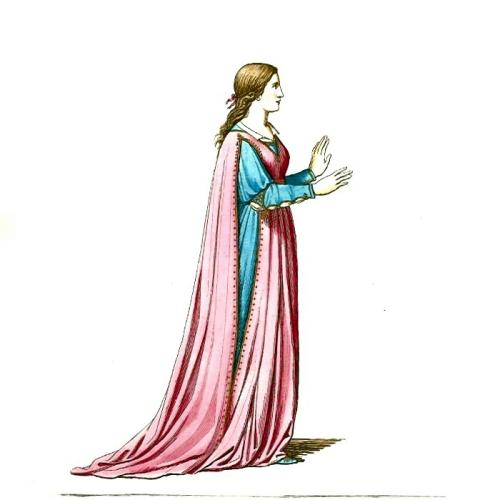 Medieval clipart medieval manor Medieval lady Clipart Medieval