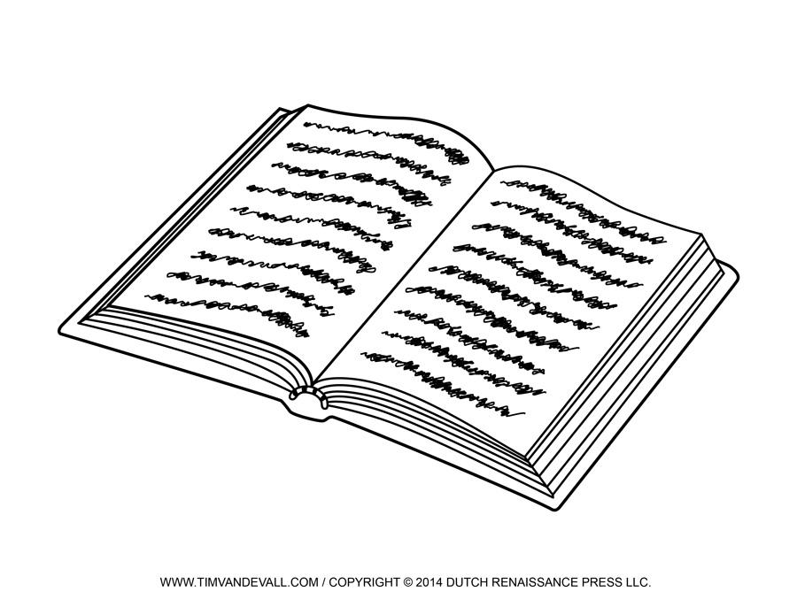 Book Image  Clip Art