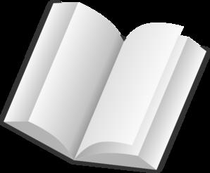 Clker Book  art vector