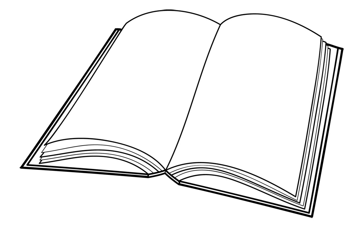Book clipart outline Pdclipart free free images art