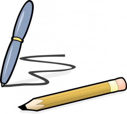 Pen clipart pen paper Panda And Free Clipart Clipart
